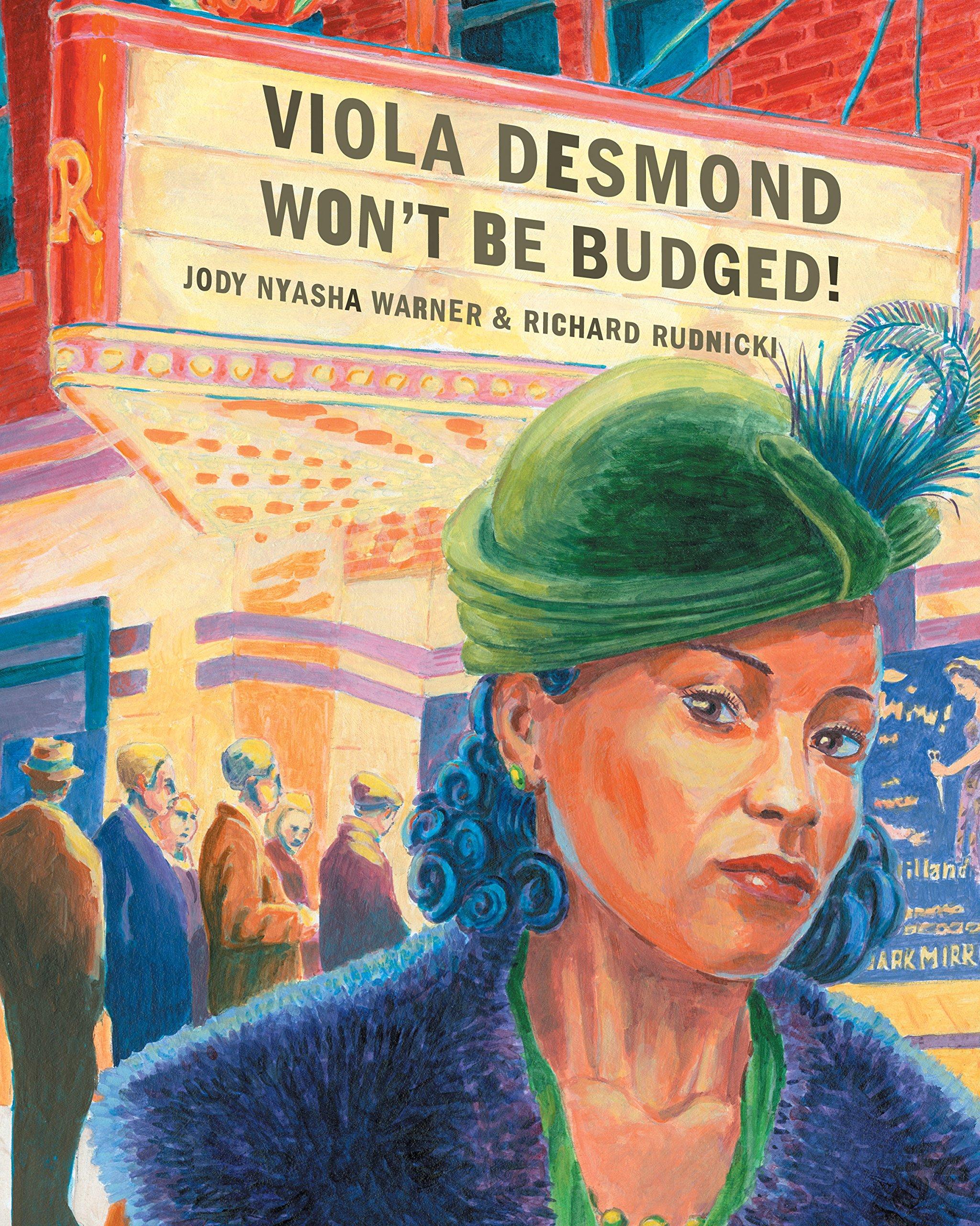Viola desmond clipart picture Viola Desmond Won\'t Be Budged: Jody Nyasha Warner, Richard ... picture