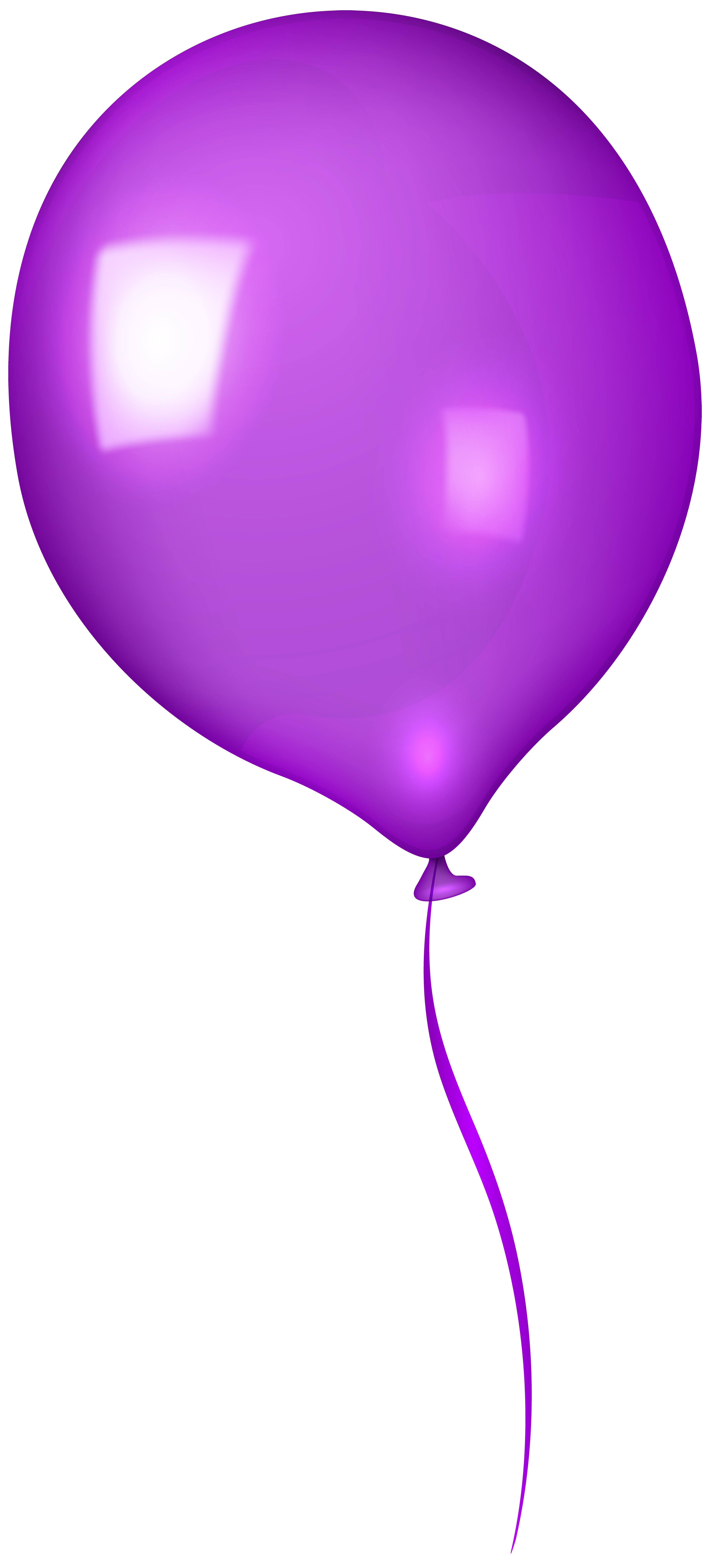 Violet balloon clipart image black and white download Balloons clipart violet for free download and use images in ... image black and white download