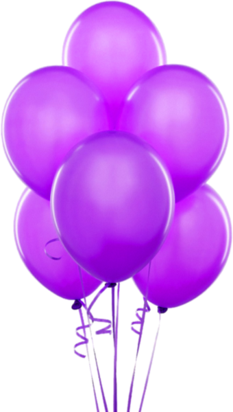 Violet balloon clipart graphic royalty free download Purple Transparent Balloons Clipart | clip art | Balloon ... graphic royalty free download