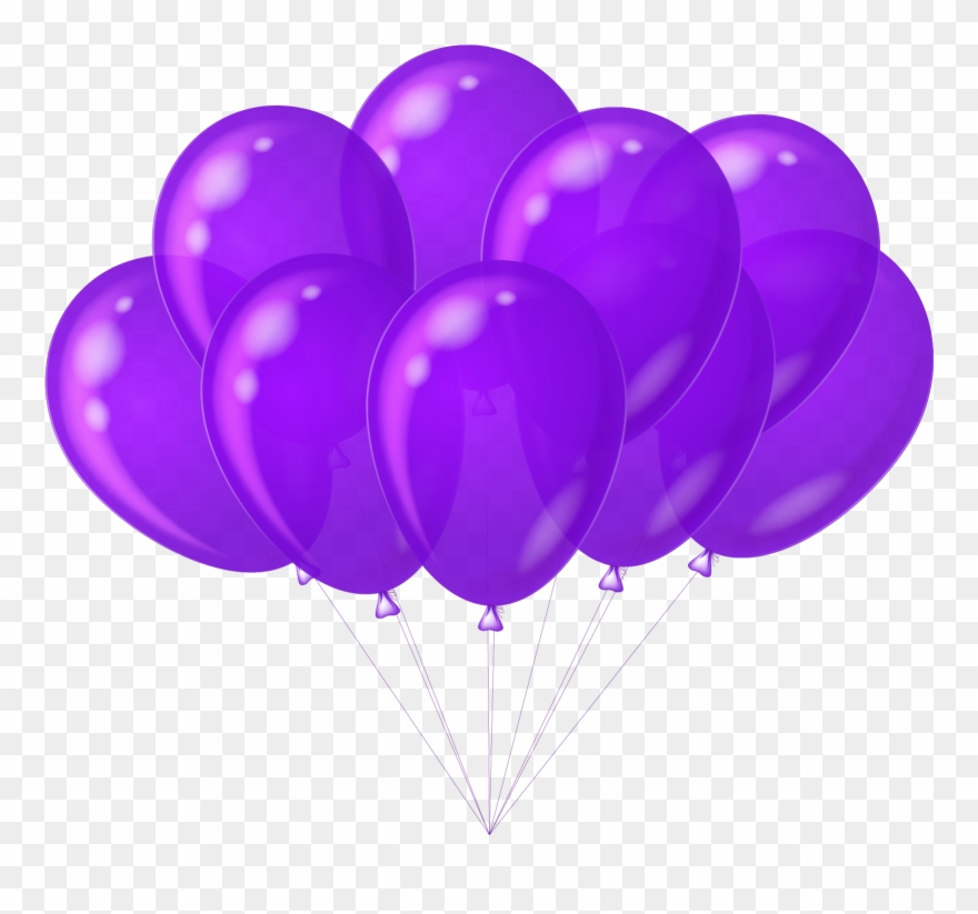 Violet balloon clipart library Balloon Clipart Purple Heart - Purple Balloons Clip Art ... library