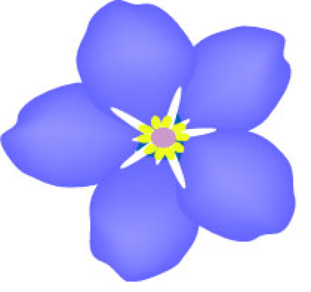 Violet flower clipart free clip art free stock Free Violet Flower Cliparts, Download Free Clip Art, Free ... clip art free stock