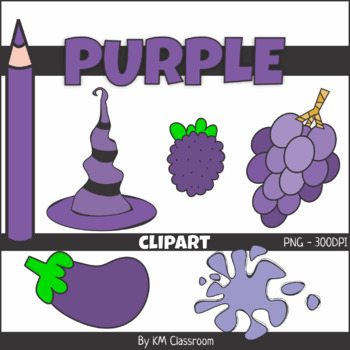 Violet objects clipart jpg transparent Color Objects PURPLE ClipArt jpg transparent