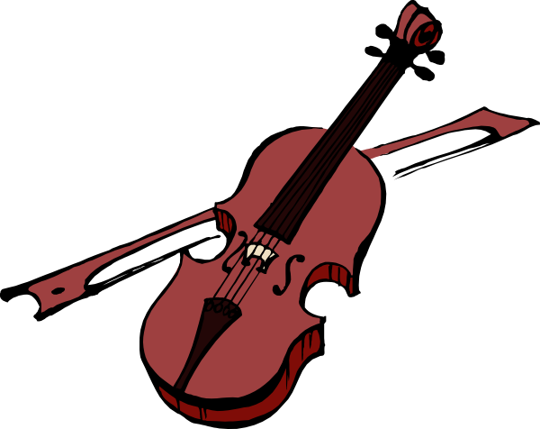 Violin clipart small svg transparent library Violin Clip Art at Clker.com - vector clip art online ... svg transparent library