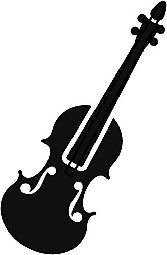 Violin silhouette clipart image transparent download Amazon.com: Simple Clipart Musical Instrument Silhouette ... image transparent download