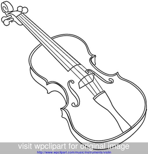 Violin clipart easy clip art transparent stock violin outline bold - public domain clip art image ... clip art transparent stock