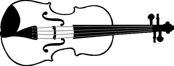 Violin clipart vector clipart Violin (b And W) clip art (114326) Free SVG Download / 4 Vector clipart
