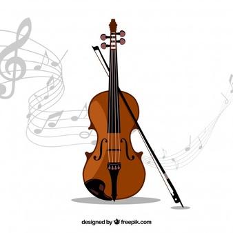 Violin clipart vector jpg royalty free library Violin Vectors, Photos and PSD files | Free Download jpg royalty free library