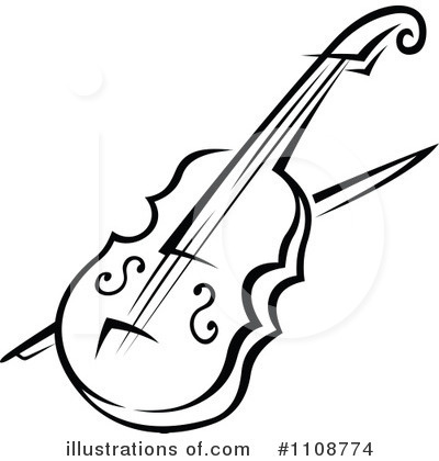 Violin pictures clip art jpg black and white Violin Free Clipart - Clipart Kid jpg black and white