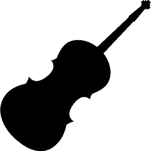 Violin silhouette clipart clip art freeuse download Violin silhouette Icons | Free Download clip art freeuse download