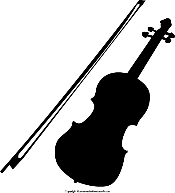 Violin silhouette clipart clip transparent Fun and free silhouette clipart, ready for PERSONAL and ... clip transparent