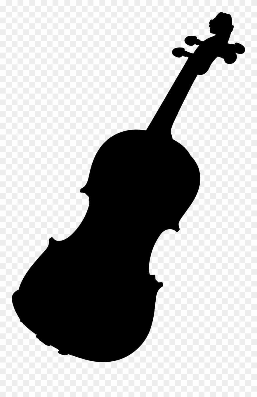 Violin silhouette clipart graphic library Violin, Black Silhouette Clipart (#2979436) - PinClipart graphic library