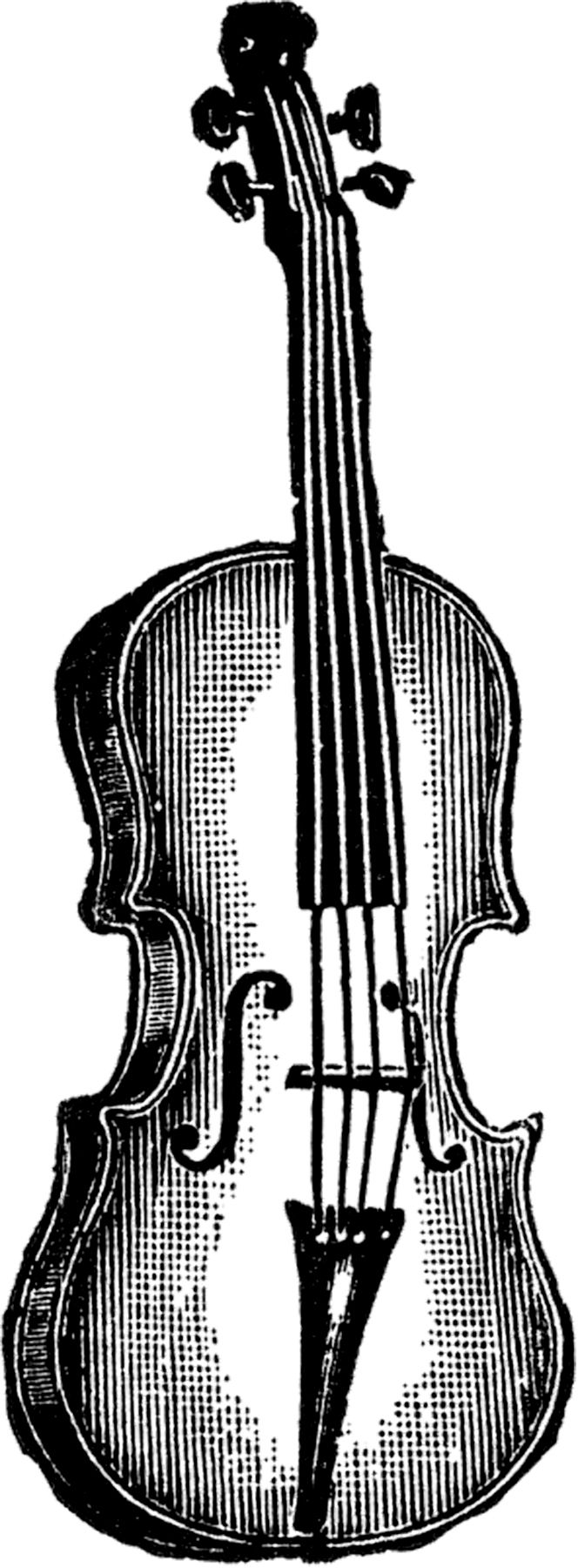 Violin with cello whimsical clipart picture royalty free download Public Domain Violin Image!   Mostly Free Clip Art   Music ... picture royalty free download