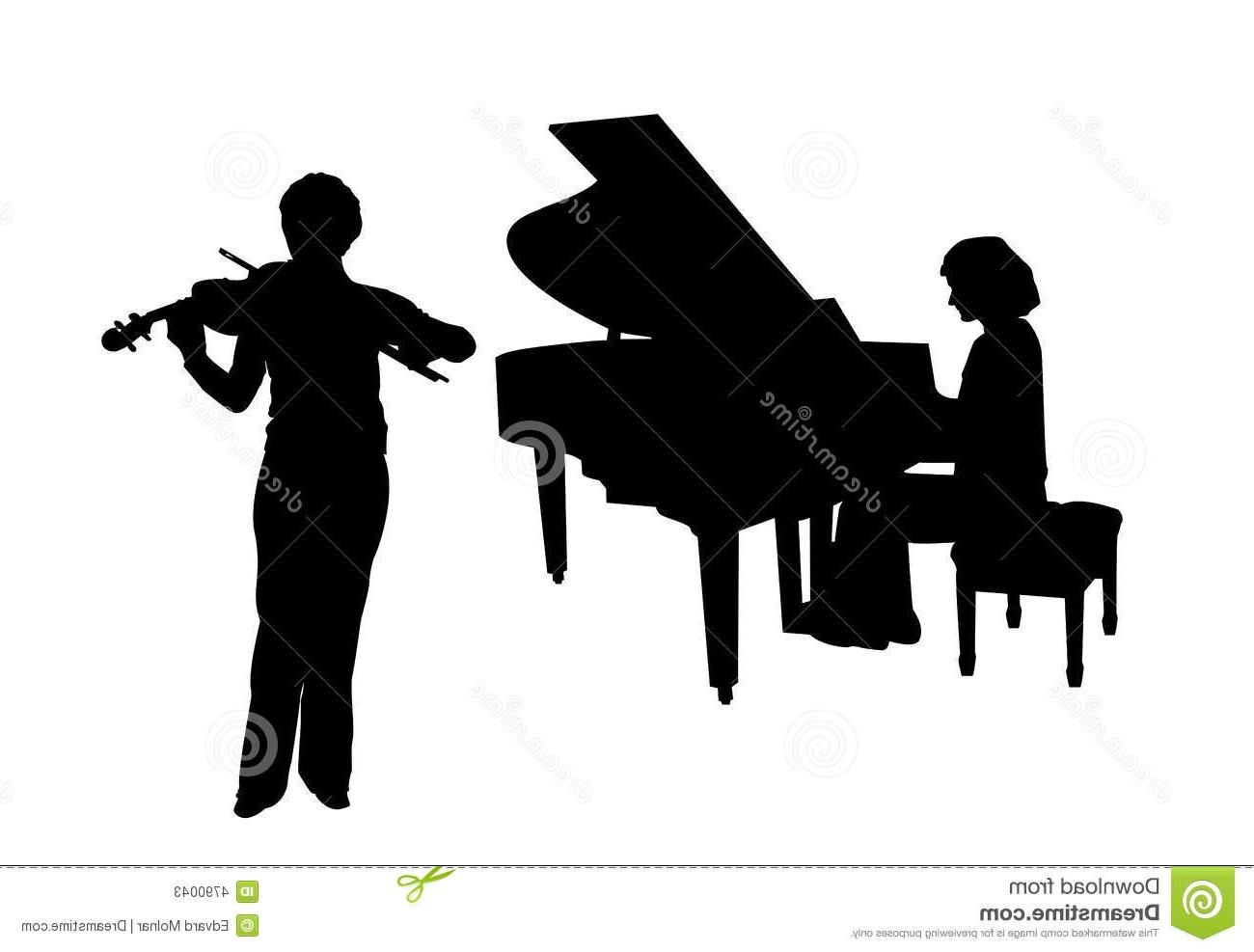 Violinist piano clipart picture royalty free download Best HD Piano And Violin Clip Art File Free » Free Vector ... picture royalty free download
