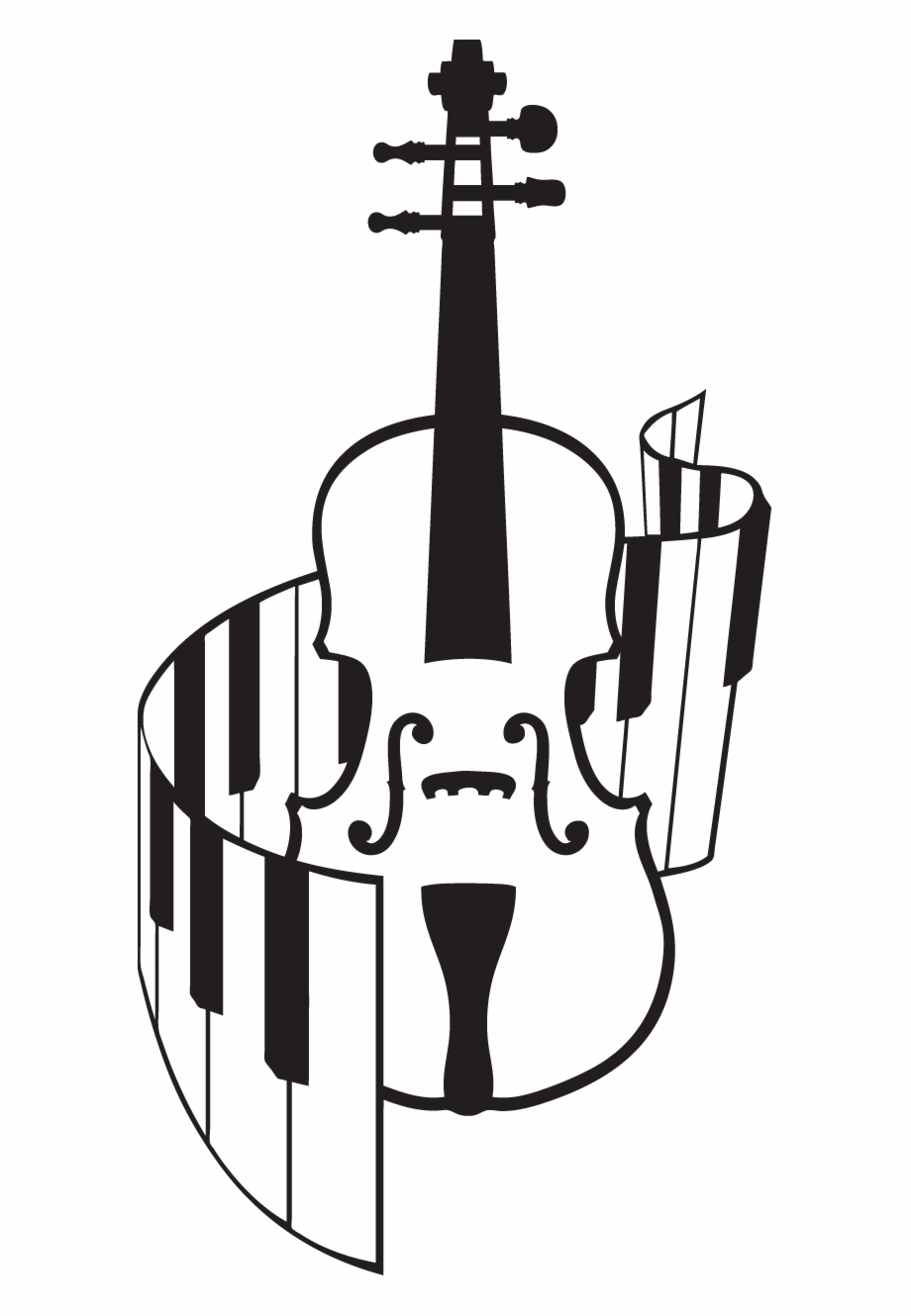 Violinist piano clipart jpg black and white download Collection Of And Clipart High Quality - Violin And Piano ... jpg black and white download