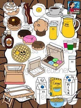 Vip breakfast clipart vector royalty free download Breakfast Clipart | TPT clipart | Clip art, Breakfast, Bowl ... vector royalty free download