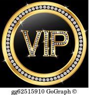 Vip clipart small clip library library Vip Clip Art - Royalty Free - GoGraph clip library library