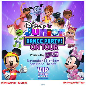Vip dance party clipart jpg royalty free library Disney Jr Dance Party jpg royalty free library