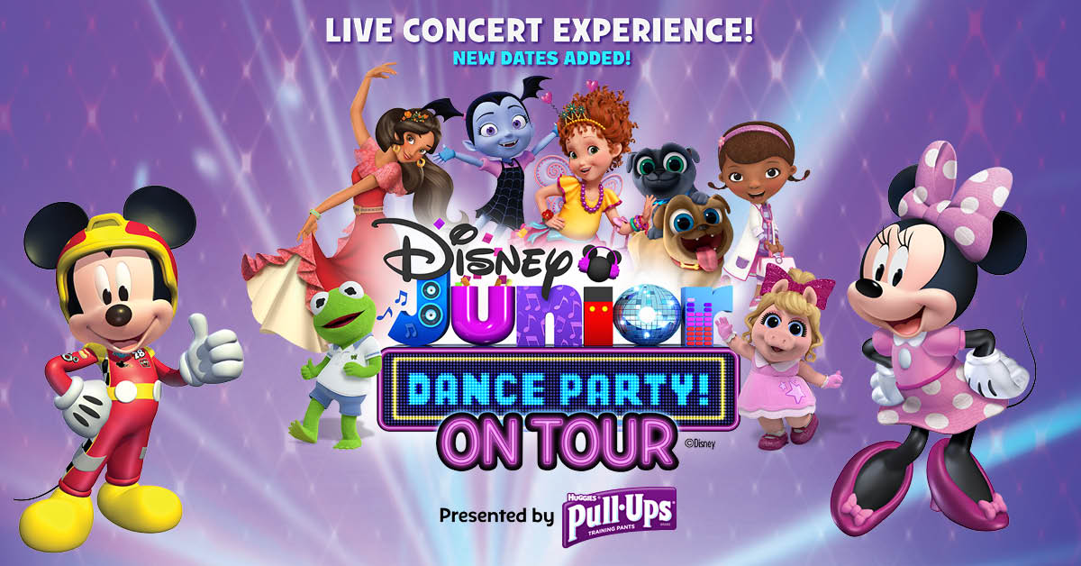 Vip dance party clipart black and white download Disney Junior Dance Party Tour: VIP Party Pass black and white download
