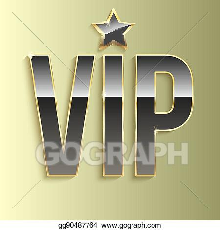 Vip glitter clipart royalty free download EPS Vector - Golden symbol of exclusivity, the label vip ... royalty free download
