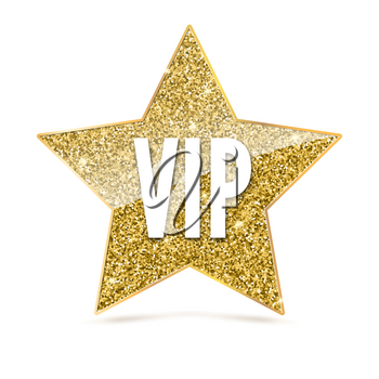 Vip glitter clipart clip art library download Five-pointed star with Golden edging and the inscription VIP ... clip art library download