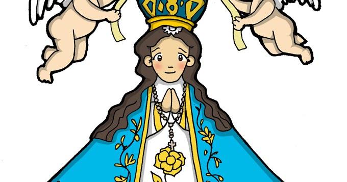 Virgen de san juan clipart picture free download Dibujos para catequesis: NUESTRA SEÑORA DE SAN JUAN DE LOS LAGOS picture free download