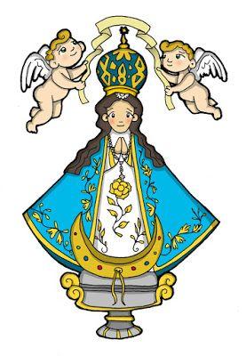 Virgen de san juan clipart transparent download Dibujos para catequesis: NUESTRA SEÑORA DE SAN JUAN DE LOS ... transparent download