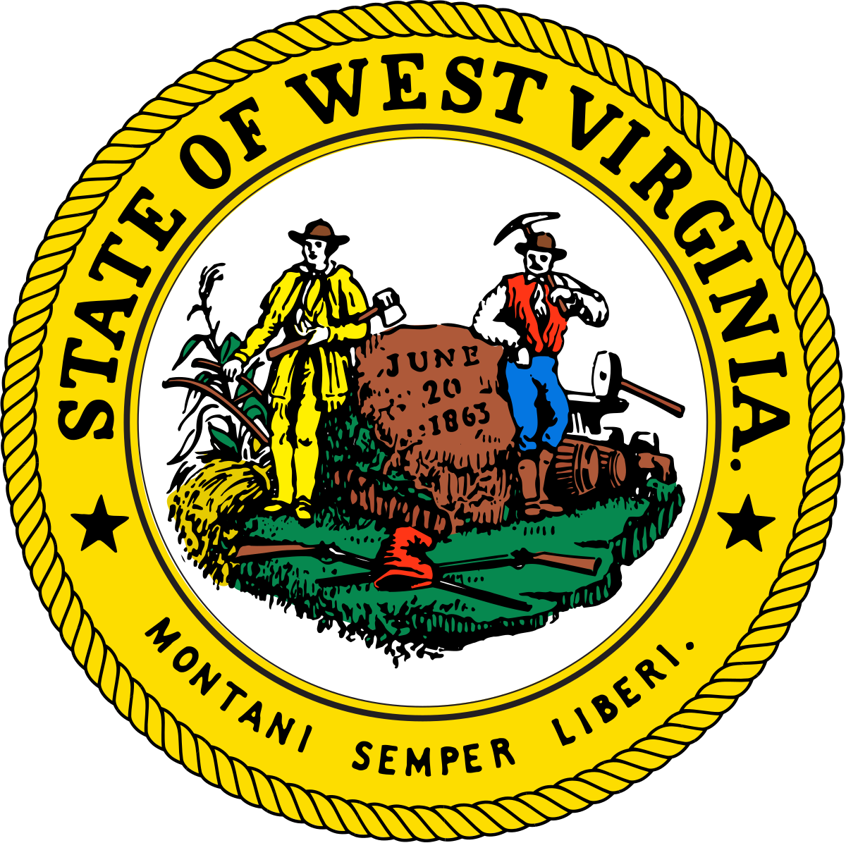 Virginia general assembly clipart vector stock West Virginia Legislature - Wikipedia vector stock