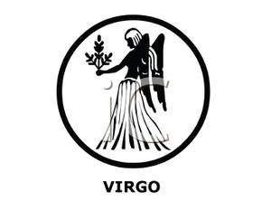 Virgo zodiac clipart graphic library library A Virgo Zodiac Sign - Royalty Free Clipart Picture graphic library library