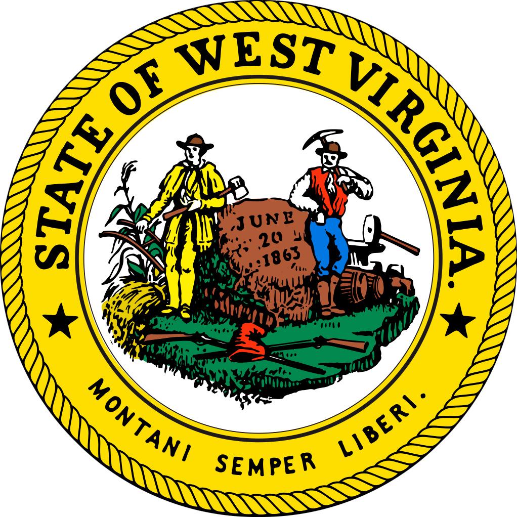 Viringina state song clipart vector freeuse library West Virginia State Seal vector freeuse library
