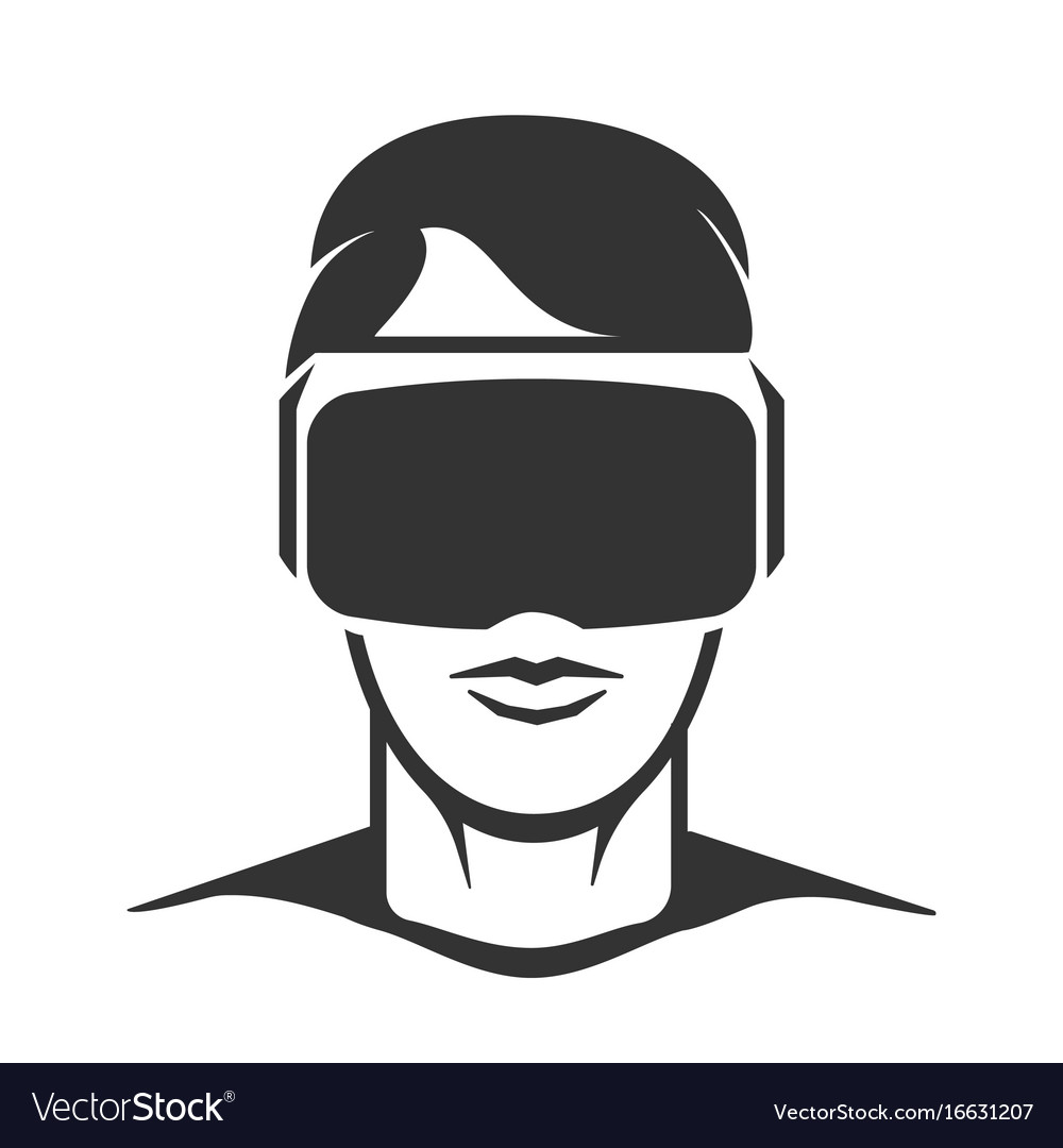 Virtual reality pictures clipart clipart free download Virtual reality man silhouette clipart free download