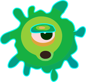 Virus and germs clipart clipart royalty free stock Germ Virus PNG, SVG Clip art for Web - Download Clip Art ... clipart royalty free stock