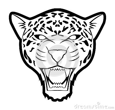 Viscious jaguar clipart clipart black and white library Collection of Ferocious clipart | Free download best ... clipart black and white library