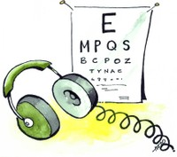 Vision and hearing screening clipart clip transparent library Vision Screening Cliparts - Cliparts Zone clip transparent library