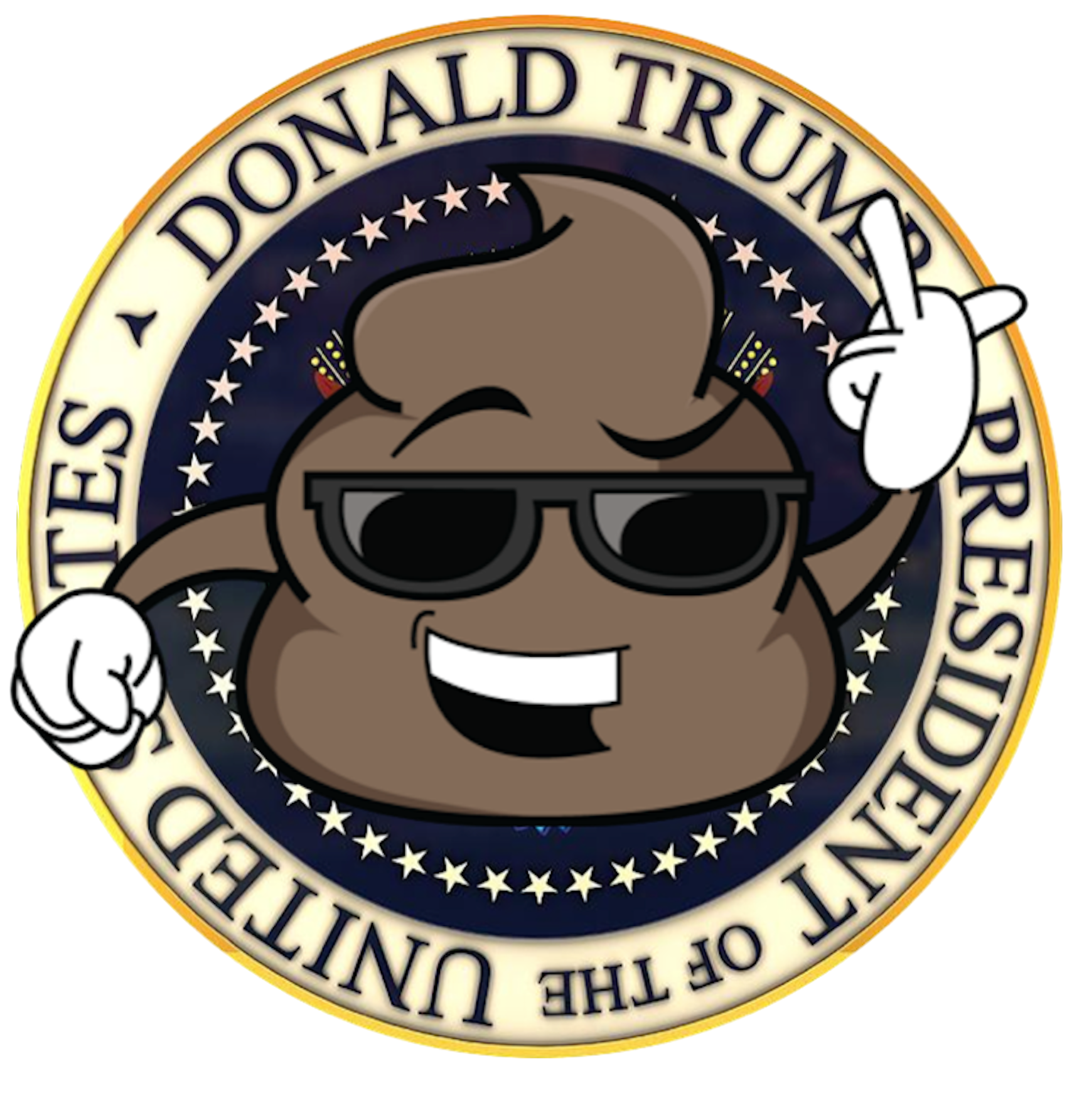 Visit white house and trump in washington clipart png library download Sponsor A Pound Of Shit To The White House | DooDoo Delivery png library download