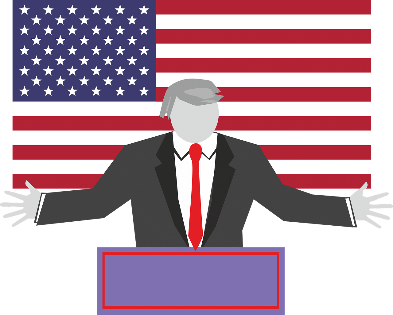 Visit white house and trump in washington clipart clipart black and white stock A STRANGE MOMENT DURING MR. TRUMP'S INAUGURATION SPEECH clipart black and white stock