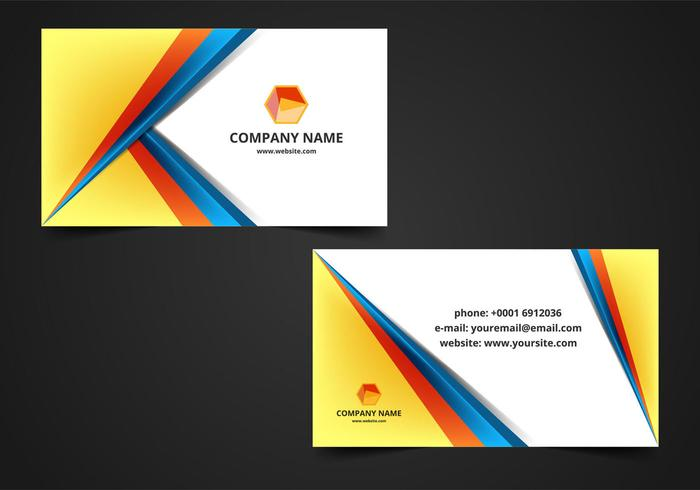 Visiting card background clipart vector library library Vector Visiting Card Background - Download Free Vectors ... vector library library