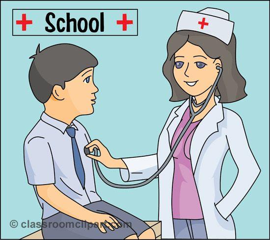 Visiting nurse clipart svg royalty free library Funny Nurse Clip Art | Download school_nurse_812 - pinned by ... svg royalty free library