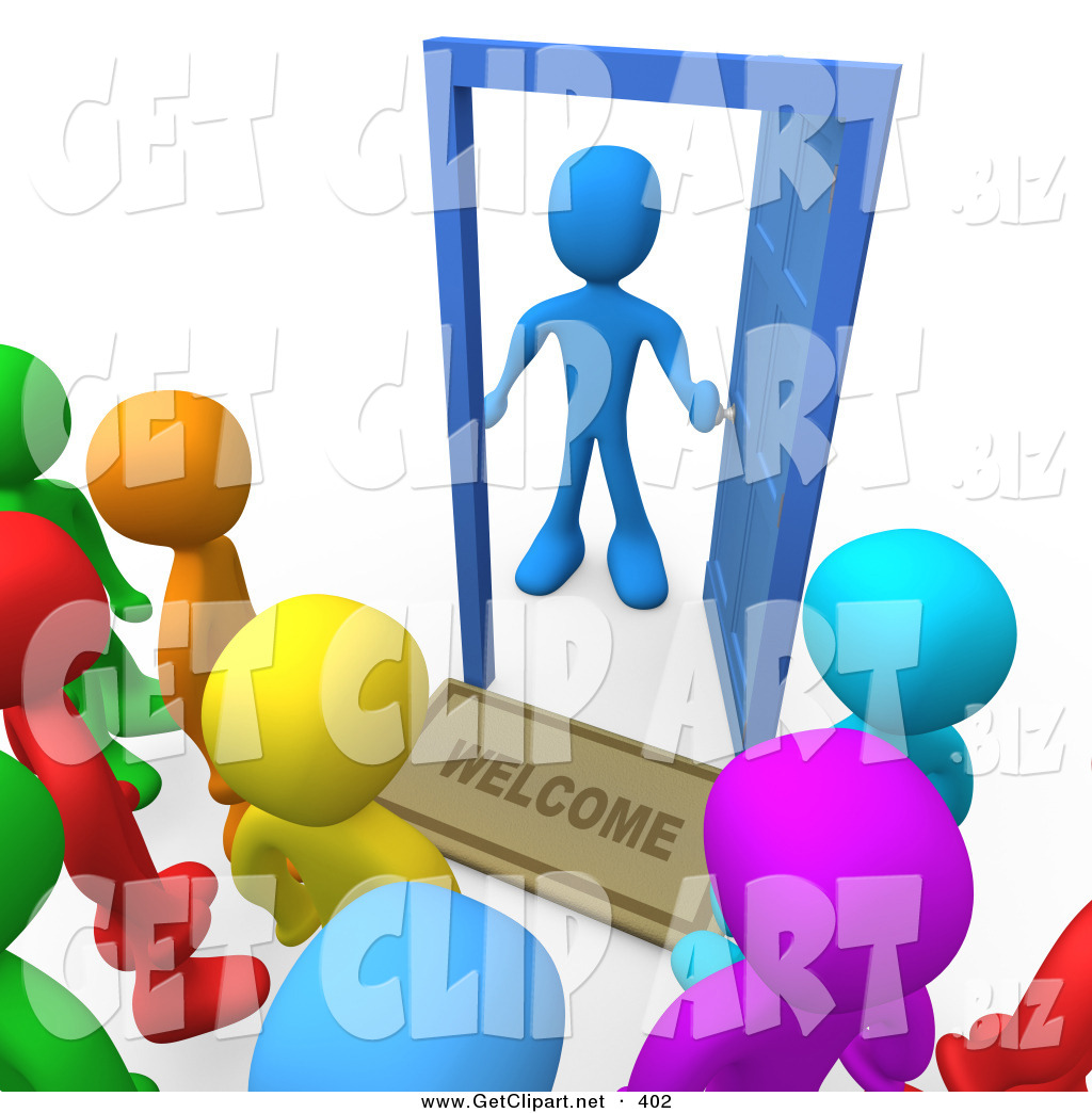 Vistors clipart jpg library library Visitors Clip Art | Clipart Panda - Free Clipart Images jpg library library