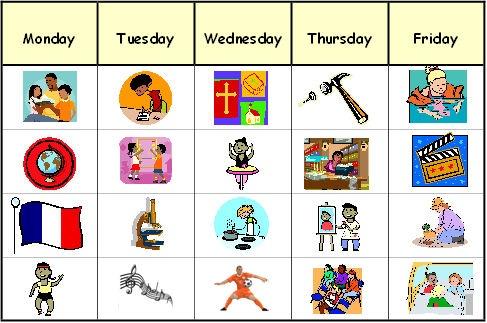 Visual school schedule clipart clip free library Free Schedule Cliparts, Download Free Clip Art, Free Clip ... clip free library