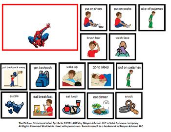 Visual school schedule clipart vector free Visual Schedule for Boy at Home (autism) vector free