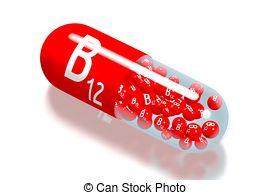 Vitamin b12 clipart