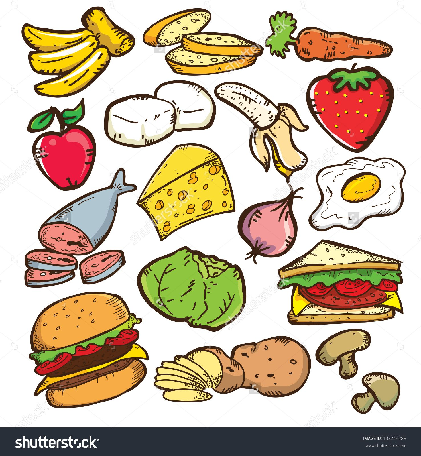 Healthy food clipart jpg library Pin by jasmi khayal on Painting Still life | Natural ... jpg library