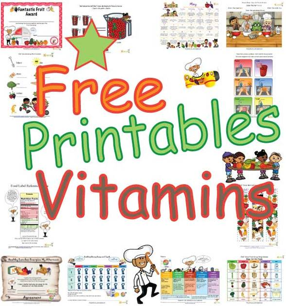 Vitamins clipart for kids png freeuse library Vitamins - Teaching Children About Foods High In Vitamins ... png freeuse library