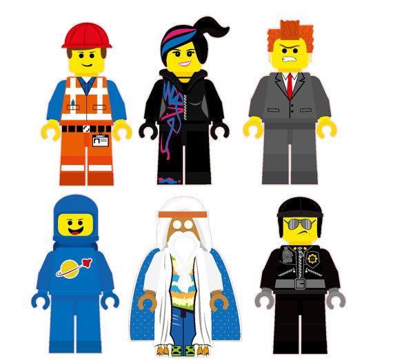 Vitruvius lego clipart image freeuse download Day 16: Favorite Team - Emmet, Wyldstyle, Benny, Vitruvius ... image freeuse download