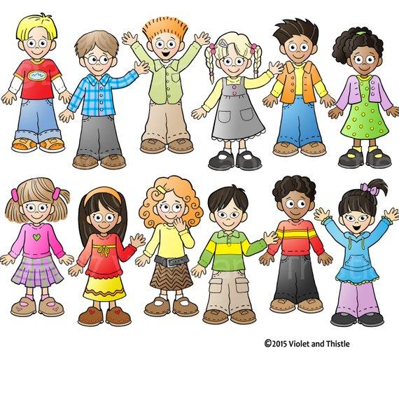 Biracial children thanksgiving clipart banner library stock Kids Clipart Kids Clip Art Children Clip art Kids School ... banner library stock