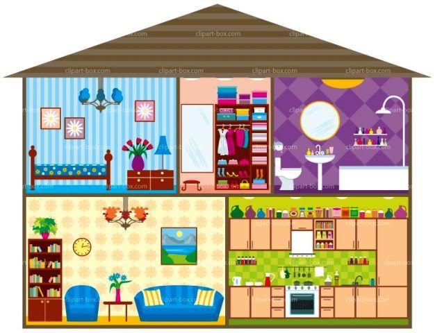Vivienda clipart picture download Detalles de una vivienda por dentro | CASAS | Casas ... picture download