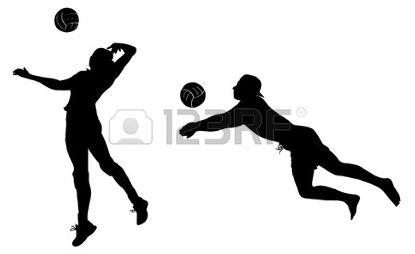 Volleyball player clipart png stock Volleyball Court Clipart | Free download best Volleyball ... png stock