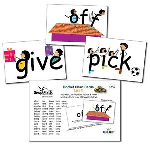 Vocabulary pocket chart clipart black and white download Details about SnapWords List A Sight Word Pocket Chart Cards Picture Kids  Children Learning black and white download