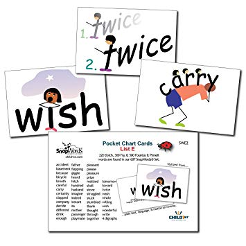 Vocabulary pocket chart clipart clipart free library SnapWords List E Pocket Chart Cards - Sight Words clipart free library