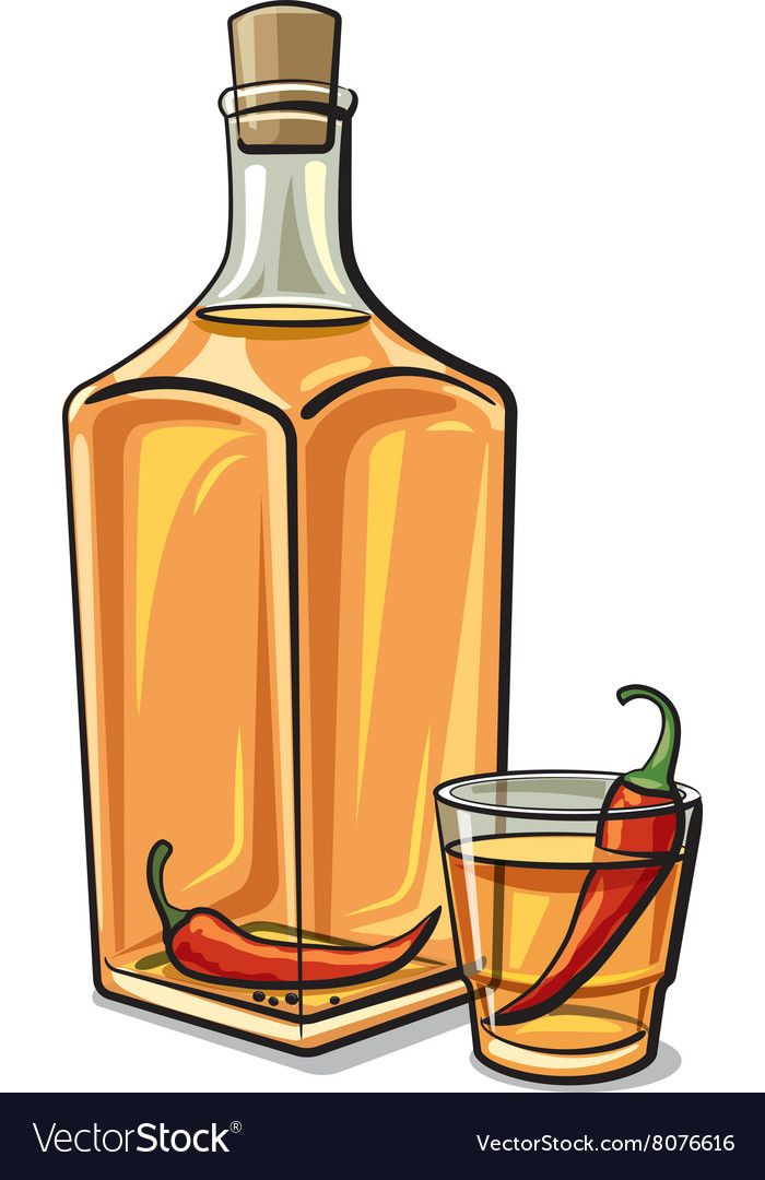 Vodka clipart clipart transparent Spicy vodka Royalty Free Vector Image - VectorStock ... clipart transparent